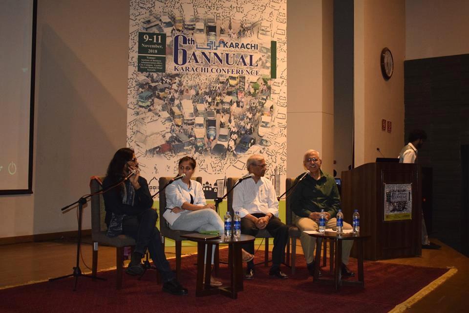 "Presentation of Paper ""Karachi's Situational Urbanism"" at 6th International Karachi Conference."