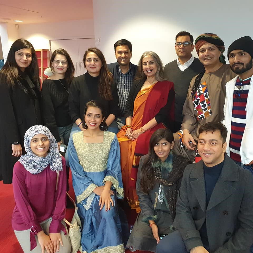 Figure 6: Pakistan Chowk Community Centre team at Birmingham Repertory Theatre for Transforming Narratives launch along with other representatives from Pakistan and Bangladesh.