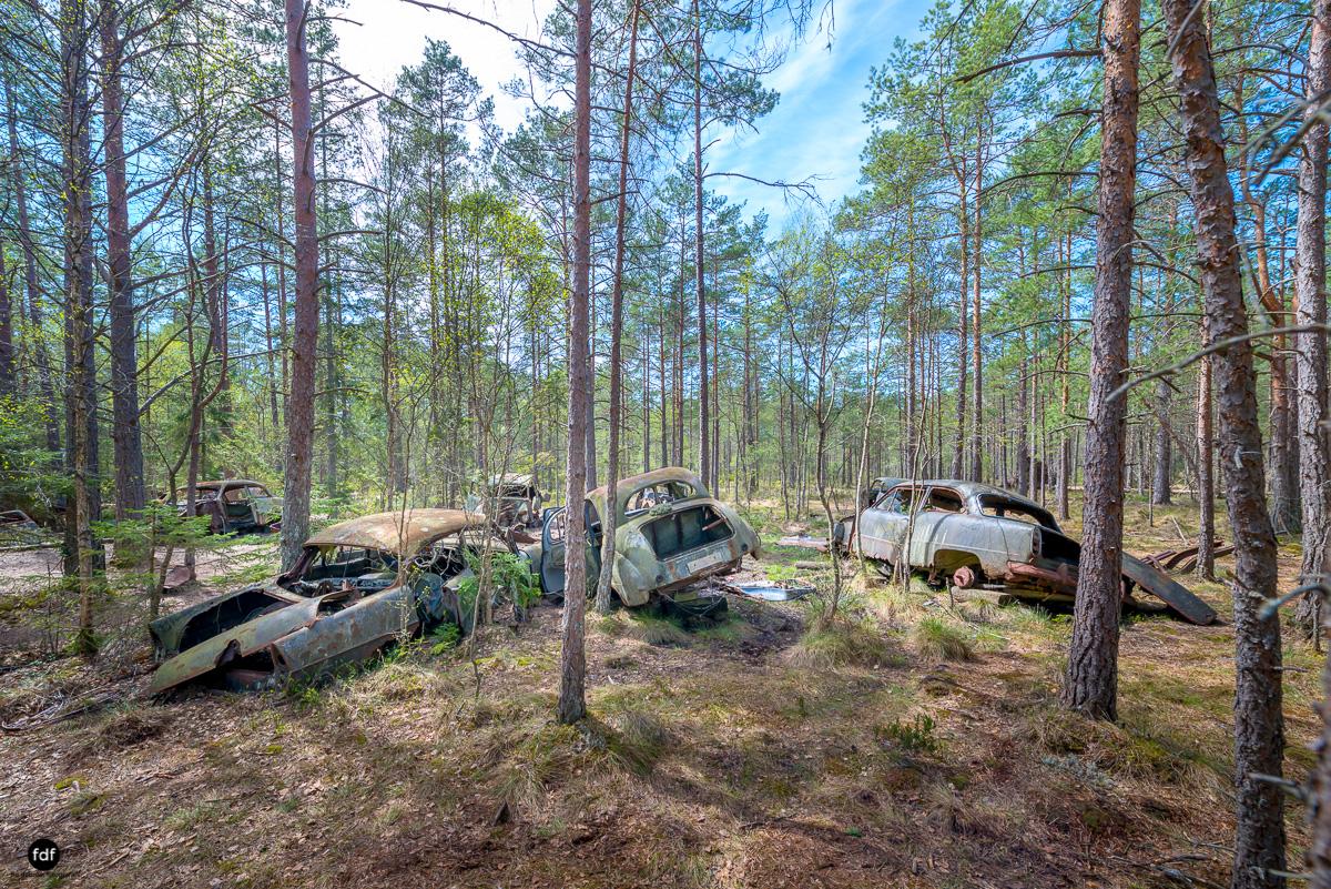 Forgotten Cars-Autofriedhof-Schrott-Lost Place-Schweden-15.JPG