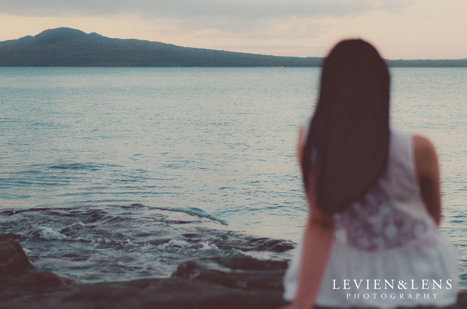 Summer Beach Sunset  {Portrait photographer Auckland}