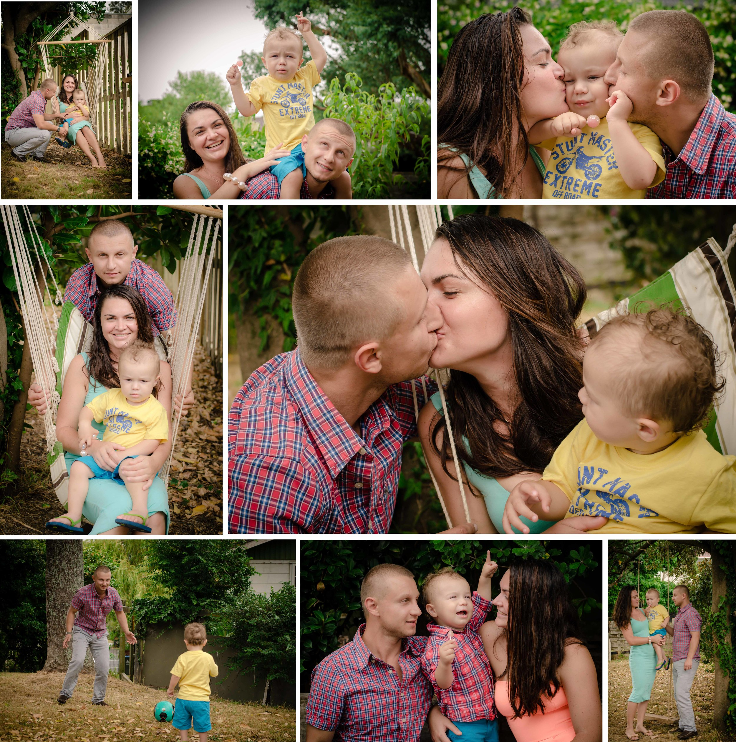 Rainy family session at the park {Kids-children photographer Auckland NZ}