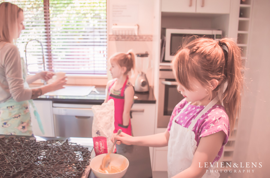 Baking Family Session | Auckland Lifestyle photography