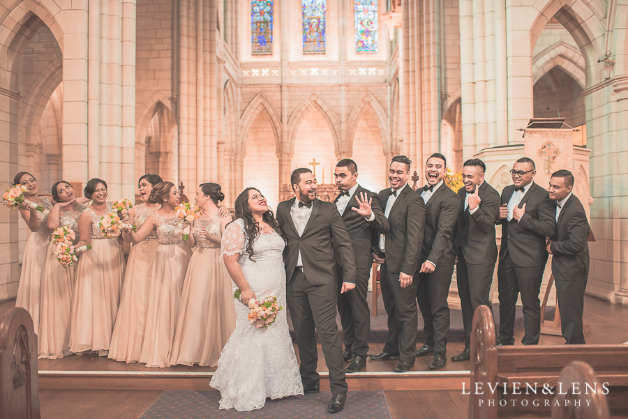 St Matthews Church Ceremony | Dream Centre | Auckland Wedding photographer