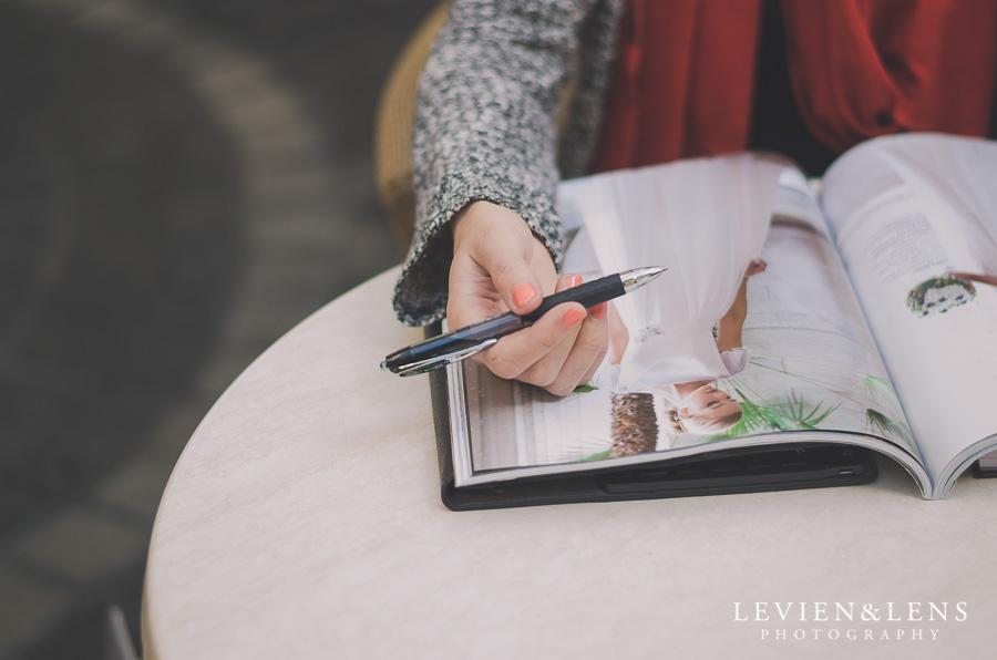 cafe portrait {Auckland couples-wedding photographer}