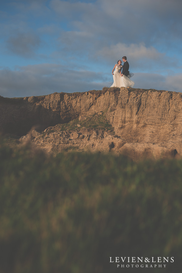Stunning couple on the top of the hill