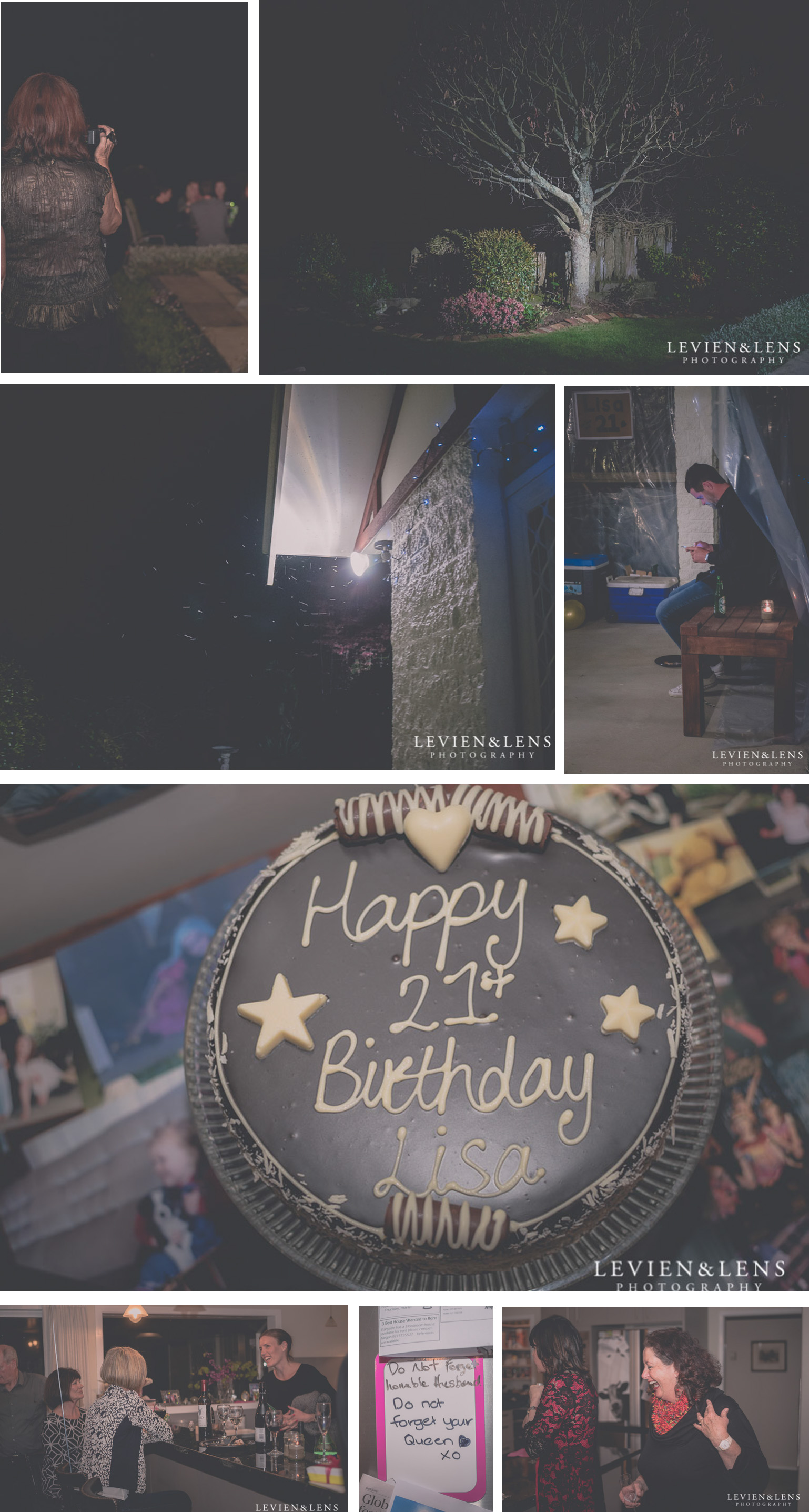 Birthday cake photographs