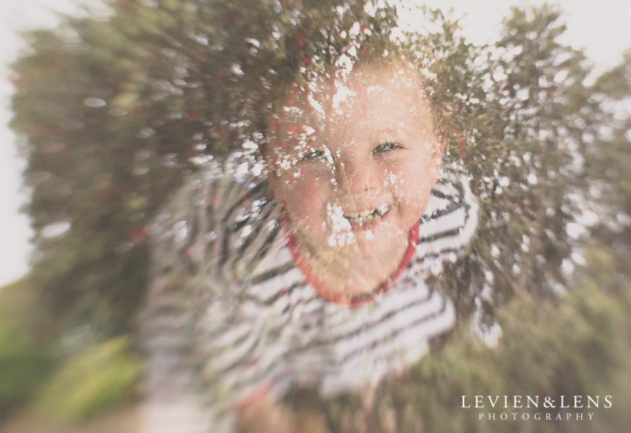girl smile multi exposure Waikato photographer