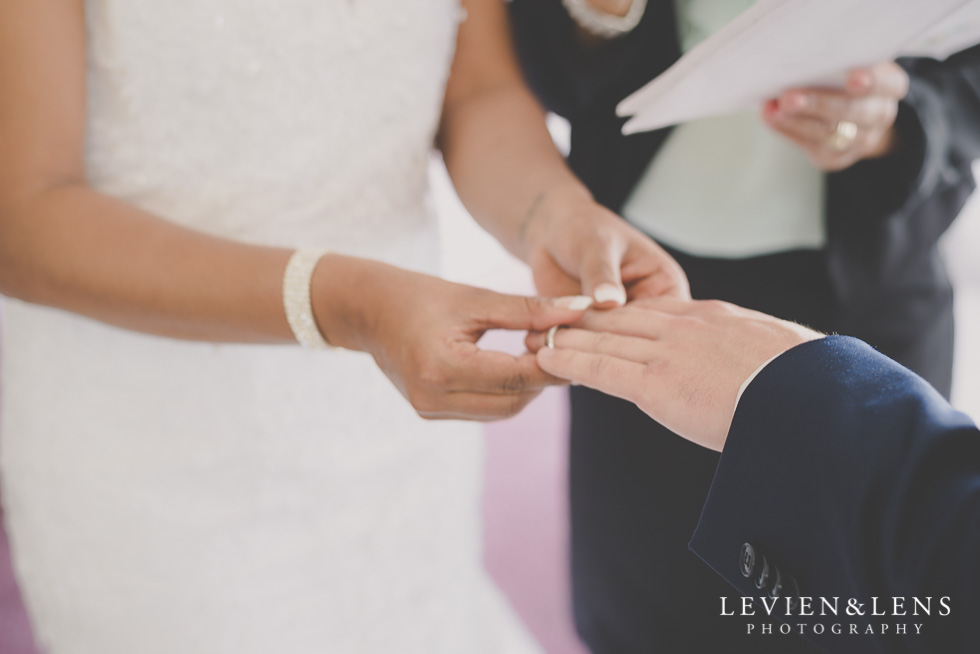 put ring on wedding ceremony {New Zealand wedding photographer}
