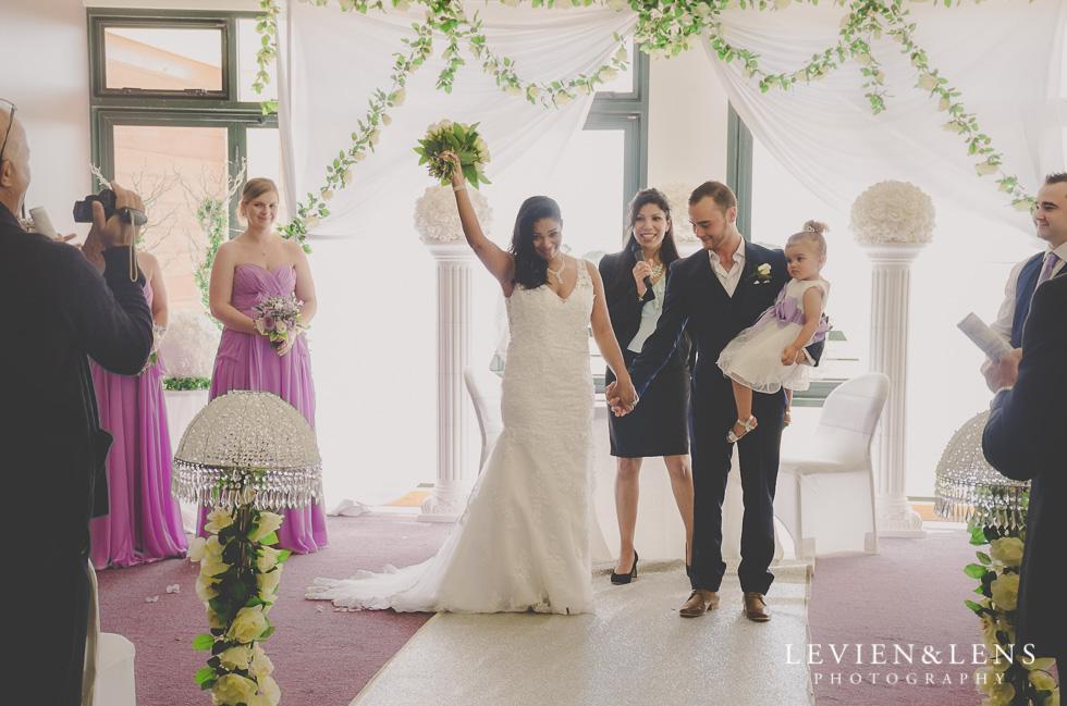 celebrating wedding ceremony {New Zealand wedding photographer}