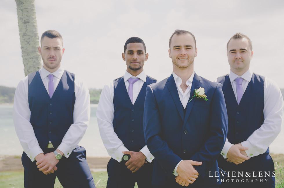 groom with groomsmen Formosa Golf Resort {Auckland wedding-engagement-couples photographer}