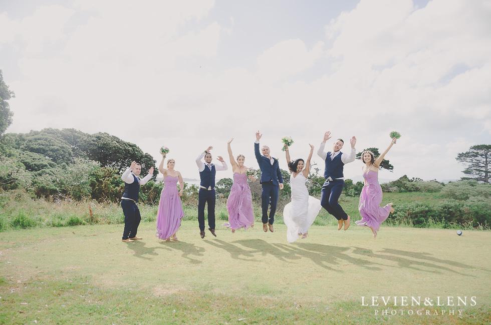 bridal party Formosa Golf Resort {Auckland-Hamilton wedding-engagement-couples photographer}