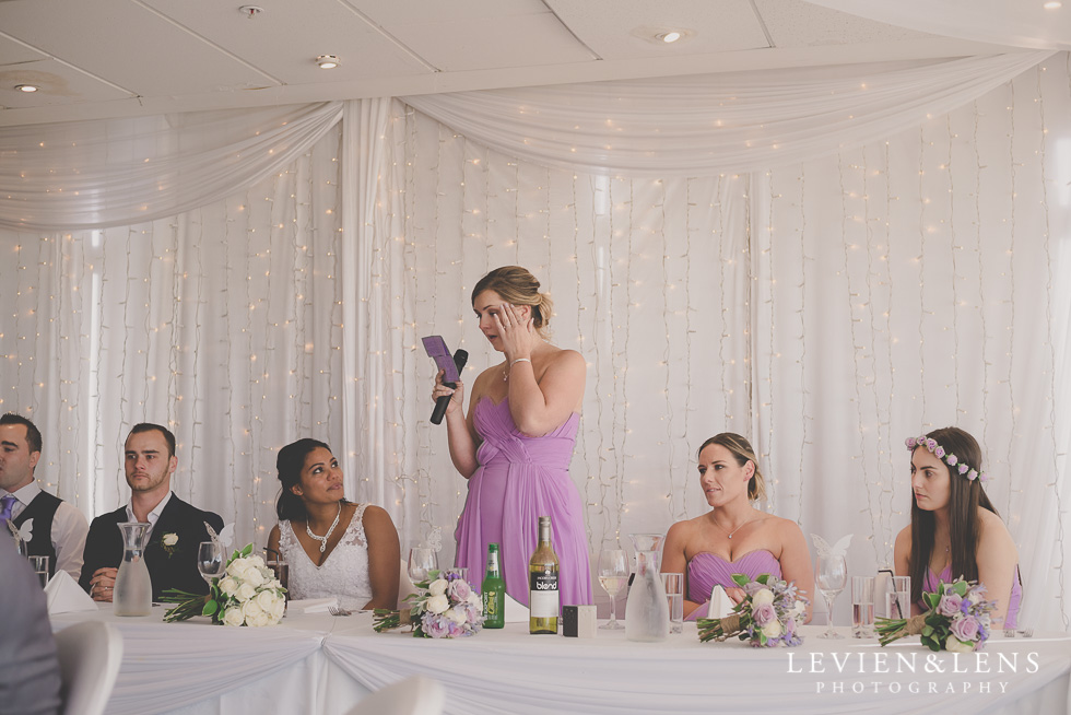 speeches reception details Formosa Golf Resort {Auckland wedding photographer}