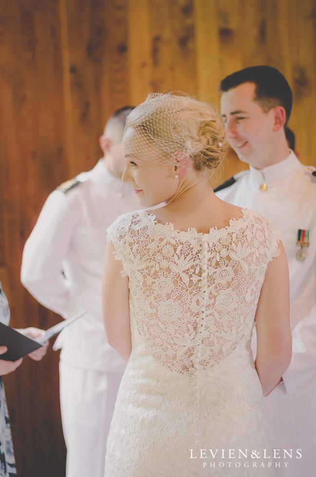 Footbridge Lodge Wedding Ceremony {Auckland-Bombay couples photographer}