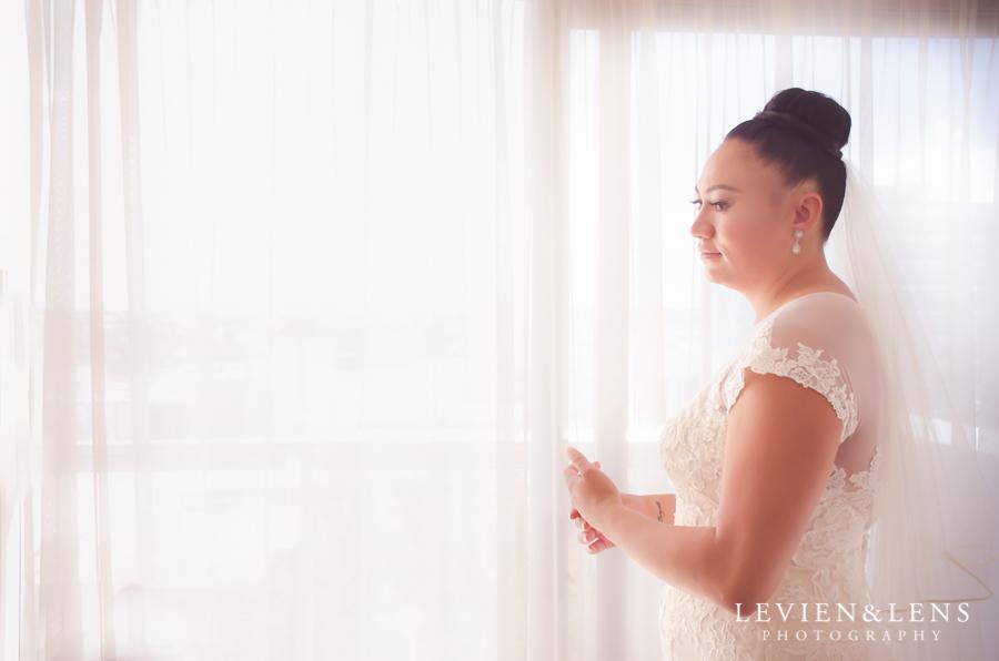 bride near the window {Auckland-Hamilton lifestyle wedding-engagement photographer}