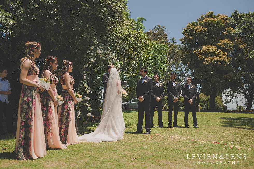 ceremony Parnell on the Rose Garden {Auckland lifestyle wedding photographer}