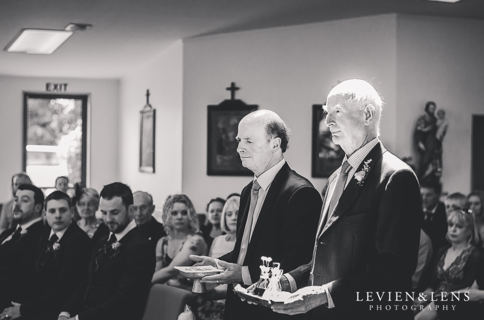 dads ceremony St Anthony's Catholic Church Waiuku {Auckland wedding-couples-engagement photographer