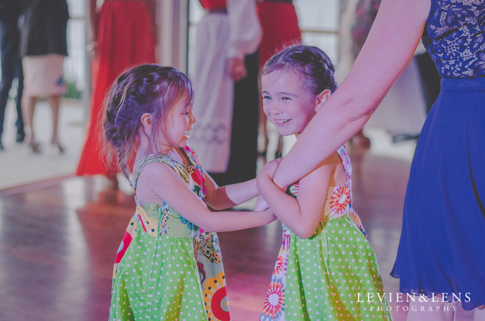 kids dancing reception Castaways {Auckland wedding-engagement-couples photographer}