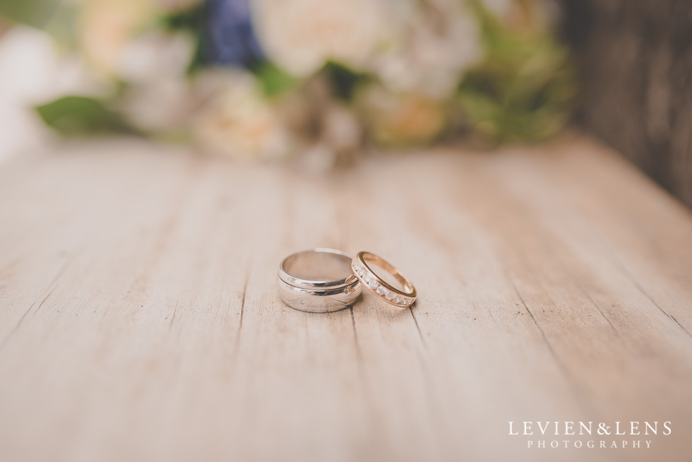 wedding rings Castaways Resort - Kariotahi beach wedding {Auckland lifestyle couples-engagement photographer}