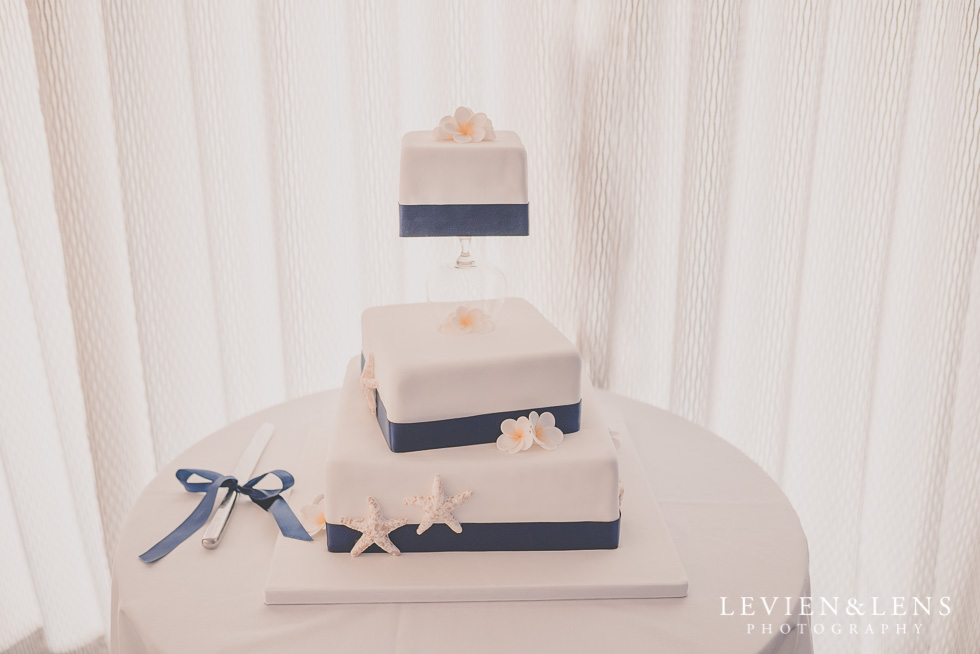 cake reception Castaways {Auckland wedding-engagement-couples photographer}
