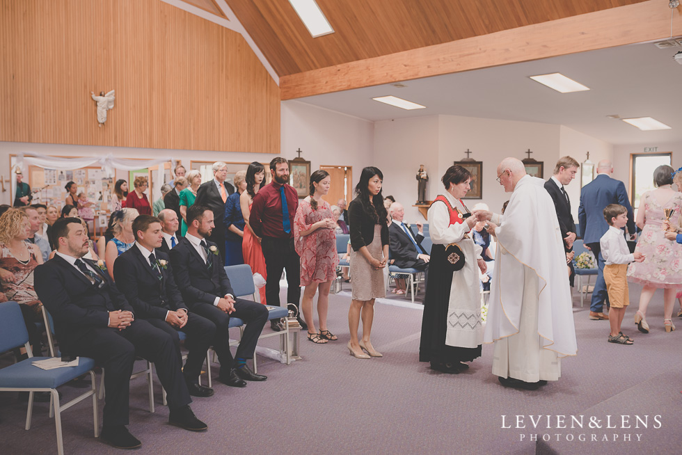 ceremony St Anthony's Catholic Church Waiuku {Auckland wedding-couples-engagement photographer