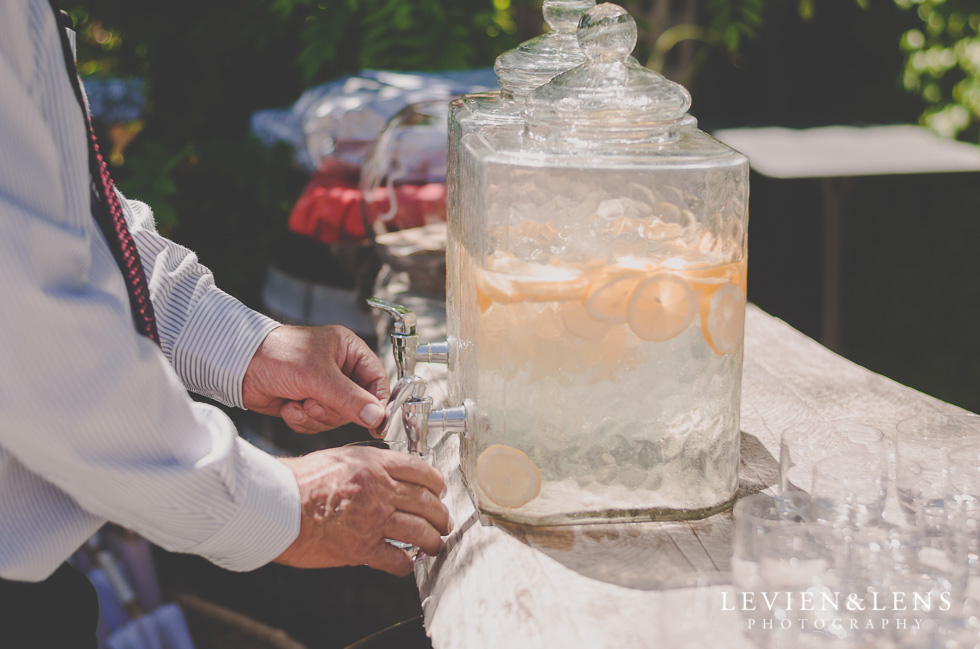 fresh lemonade Ataahua Garden Venue {Tauranga wedding photographer}