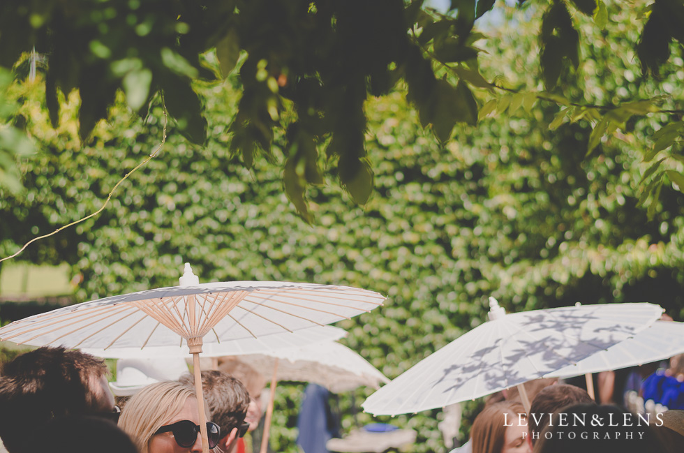 umbrellas Ataahua Garden Venue {Tauranga wedding photographer}