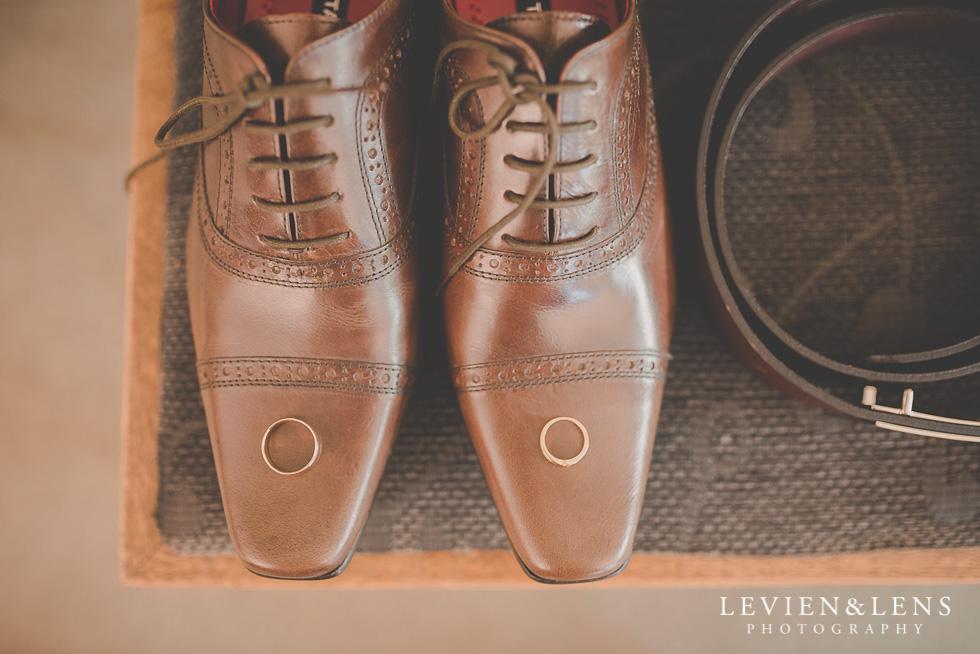 shoes rings {Tauranga-Bay of Plenty wedding-couples-engagement photographer}