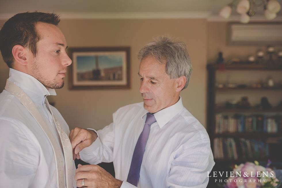 father and groom {Tauranga-Bay of Plenty wedding-couples-engagement photographer}