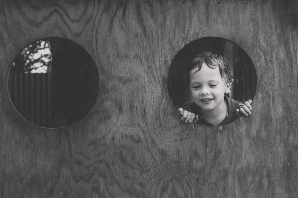 boy on playground {Hamilton lifestyle photographer}