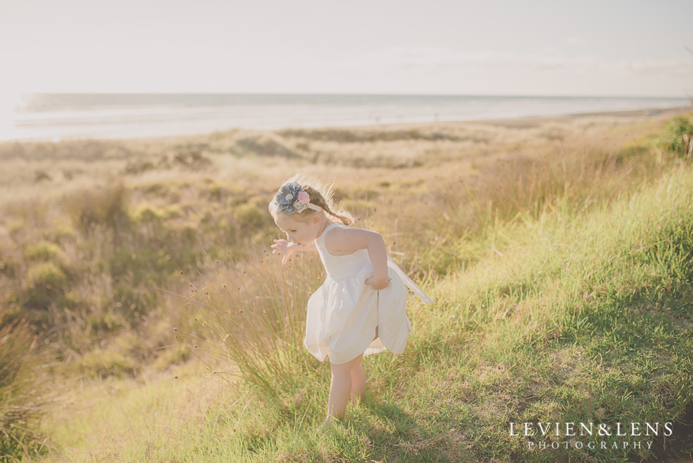 girl on beach Beach maternity {Auckland-Hamilton-Tauranga lifestyle wedding-couples-engagement photographer}