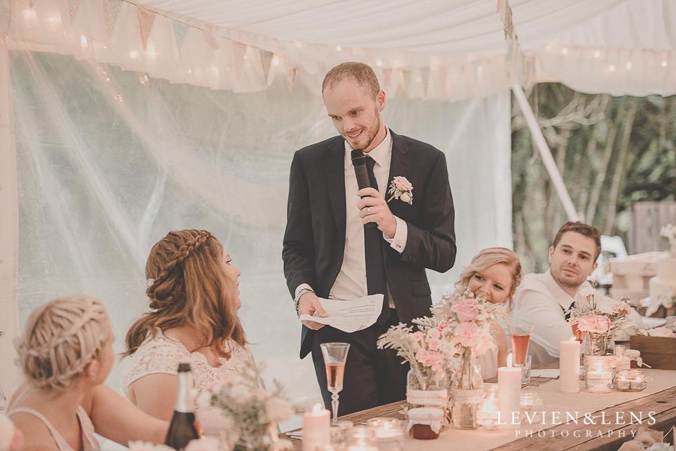 speeches reception {Auckland-Hamilton-Tauranga wedding photographer}