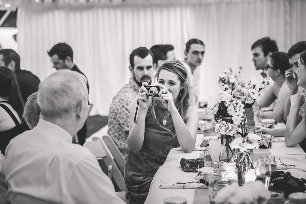 guests reception {Auckland-Hamilton-Tauranga wedding photographer}
