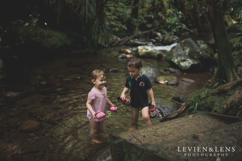 brother and sister Pirongia bush walk - personal moments {Waikato lifestyle wedding photographer}