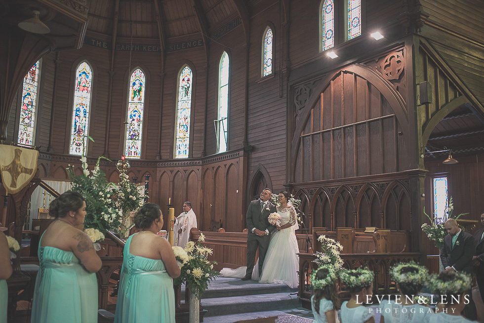 ceremony Church Of The Holy Sepulchre - Bastion Point {Auckland NZ lifestyle wedding-engagement photographer}