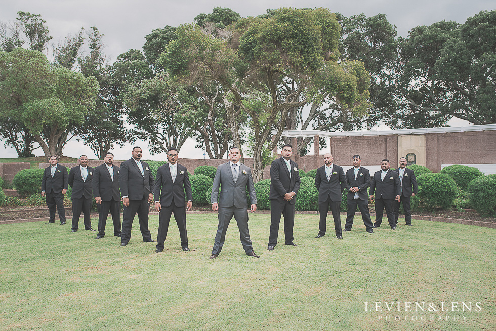 groomsmen v Church Of The Holy Sepulchre - Bastion Point {Auckland NZ lifestyle wedding-engagement photographer}