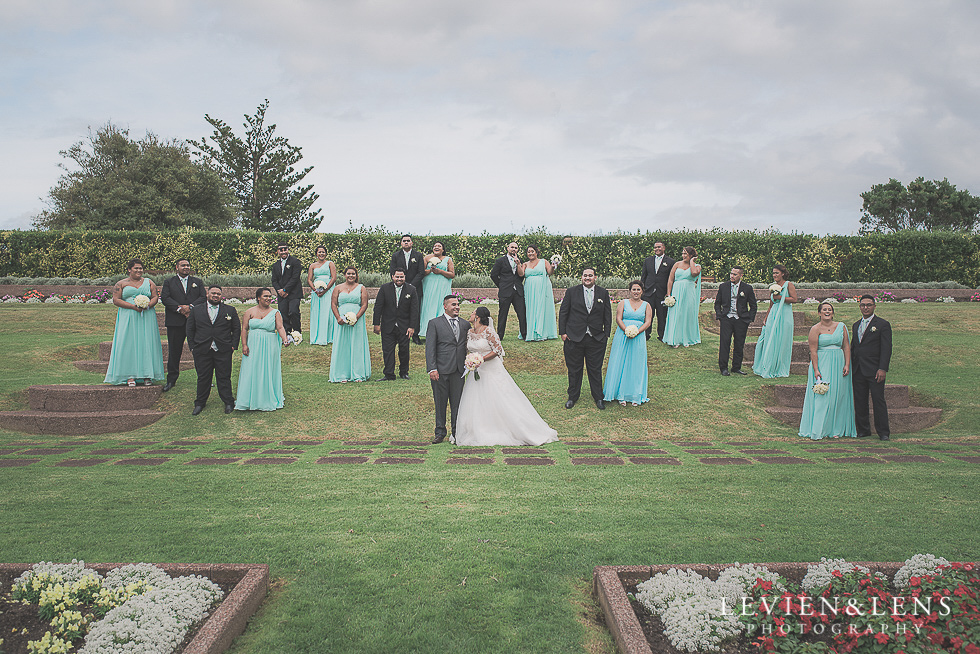 bridal party Church Of The Holy Sepulchre - Bastion Point {Auckland NZ lifestyle wedding-engagement photographer}