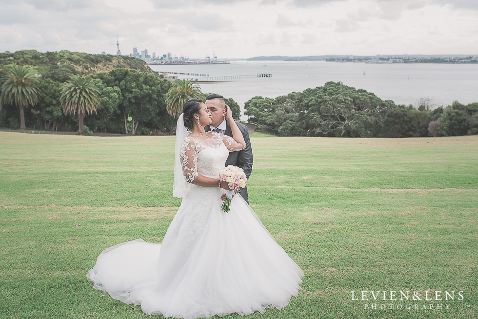 stunning couple Church Of The Holy Sepulchre - Bastion Point {Auckland NZ lifestyle wedding-engagement photographer}