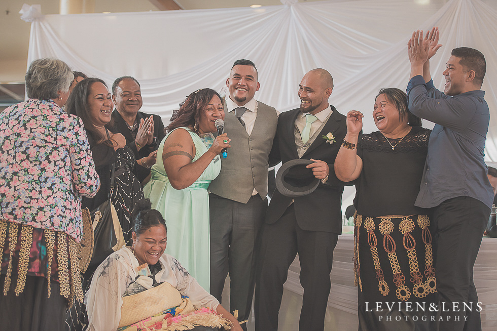 speeches reception {Auckland NZ lifestyle wedding-engagement photographer} Malaeola community centre
