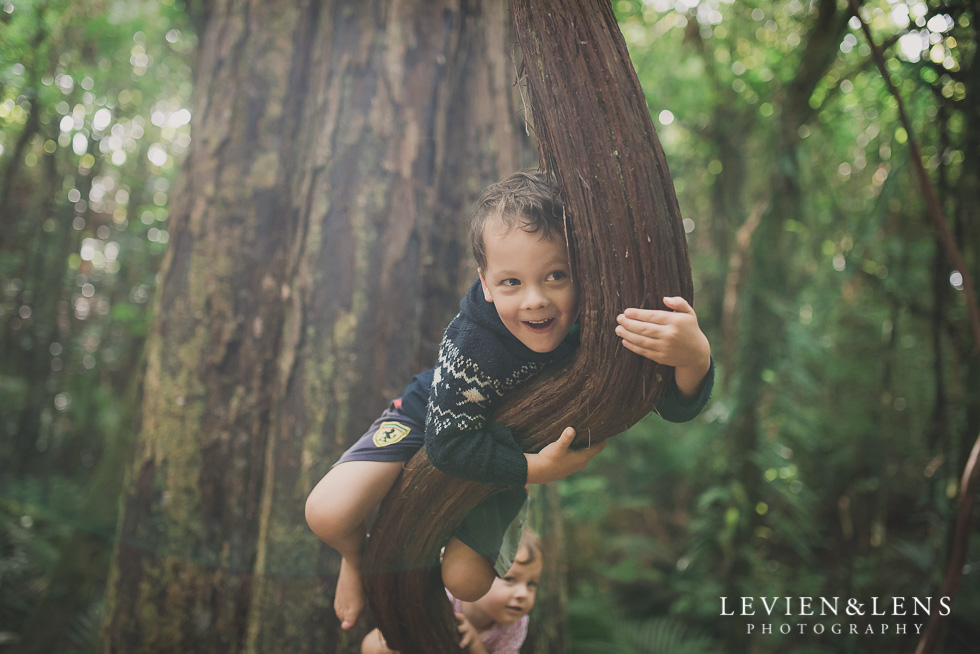 boy on tree My 365 Project. April 2016 {New Zealand lifestyle wedding photographer}