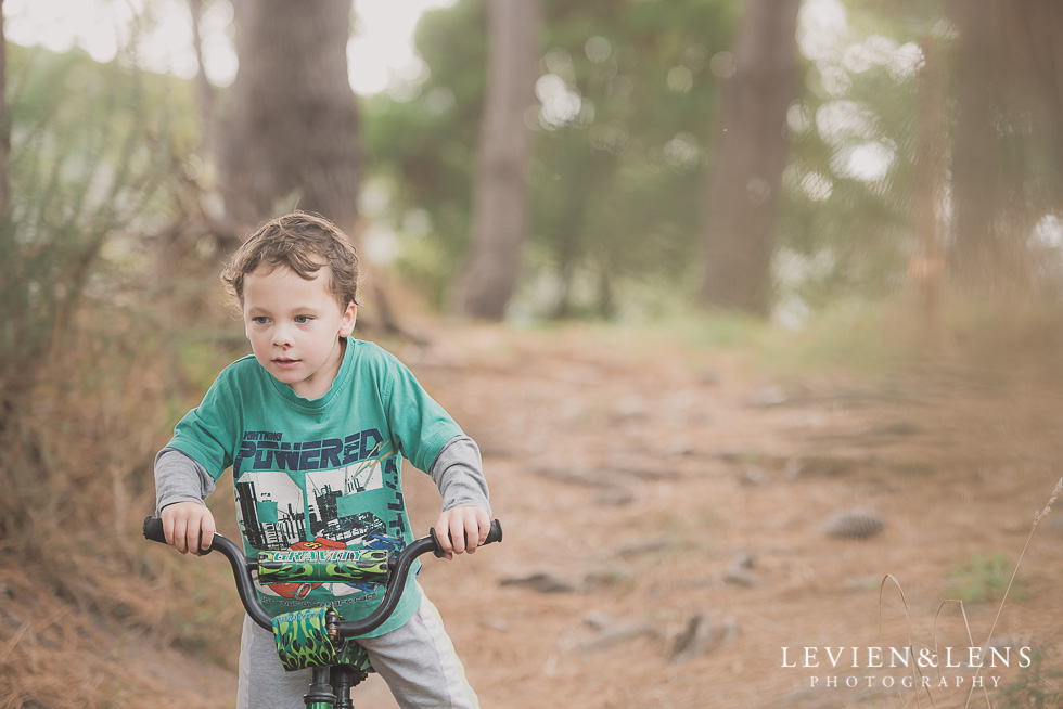 boy Adventures on the bike track {Hamilton NZ lifestyle wedding photographer}