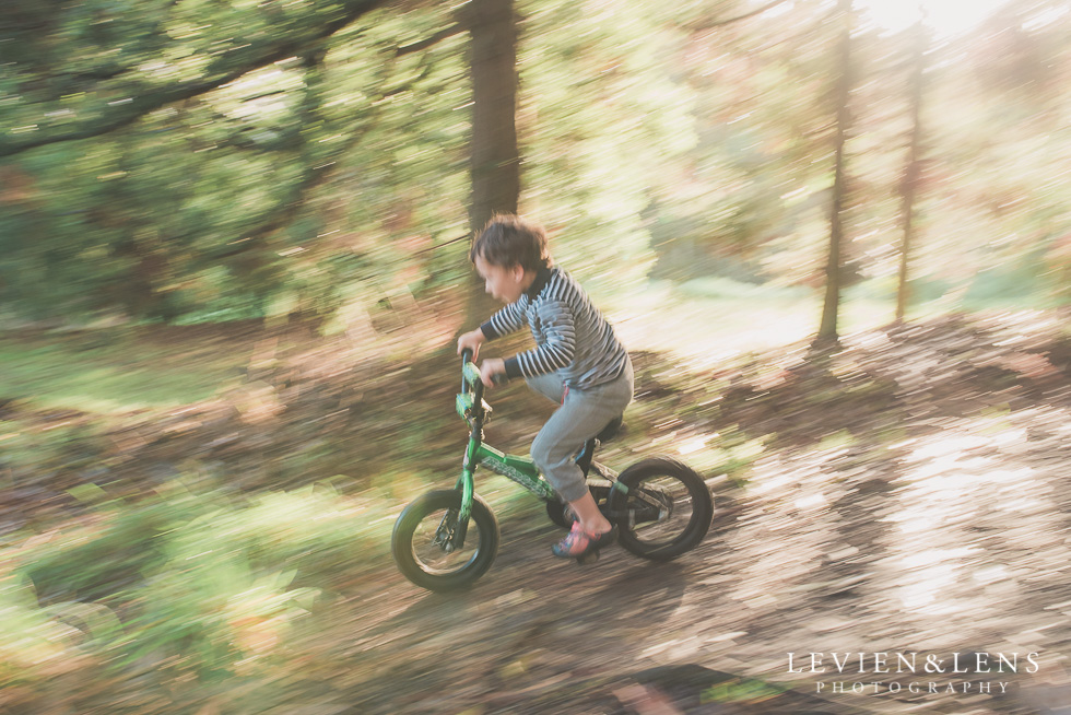 Boy on the bike track {New Zealand lifestyle photographer}