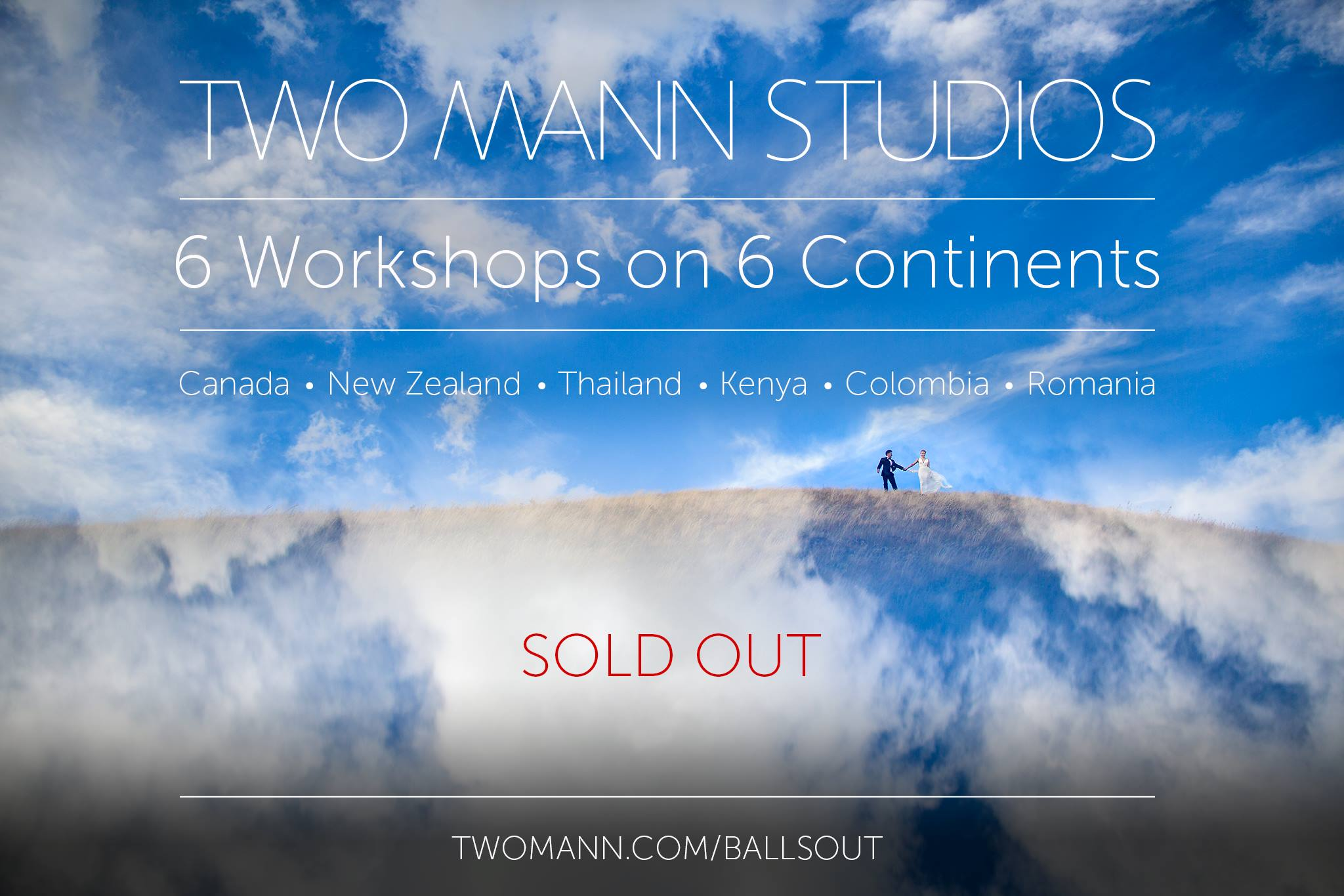 New Zealand wedding photographers workshop