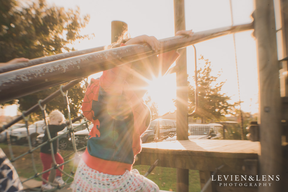 sun burst - girl at playground My 365 Project. May 2016 {Hamilton NZ lifestyle wedding photographer}