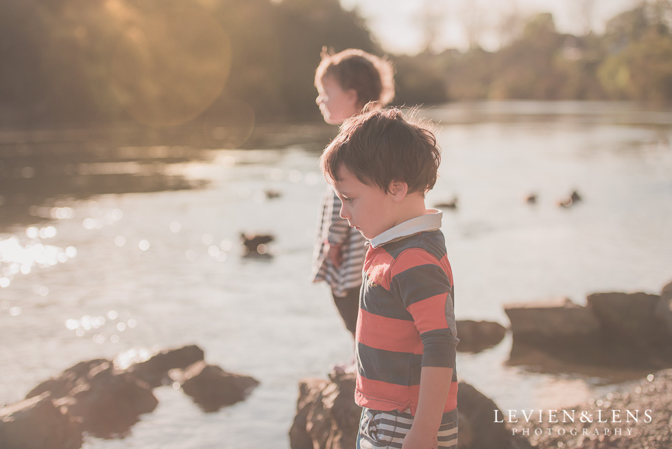 kids at river My 365 Project. May 2016 {Hamilton NZ lifestyle wedding photographer}