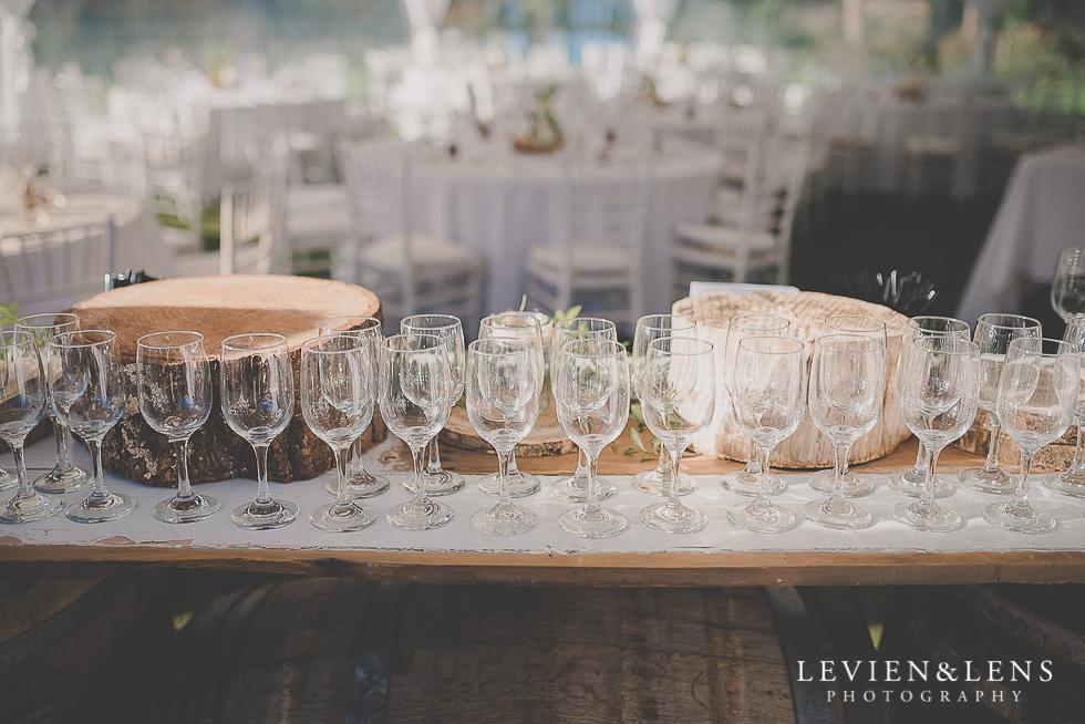 reception details St Margarets Cafe - Karaka {Auckland lifestyle wedding photographer}
