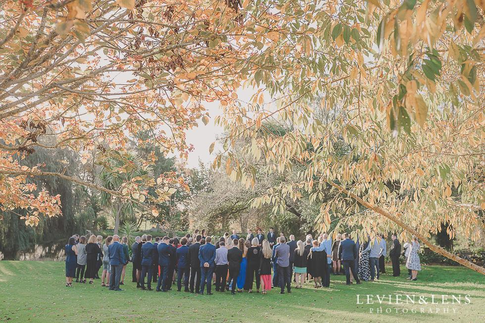 ceremony St Margarets Cafe - Karaka {Auckland lifestyle wedding photographer}