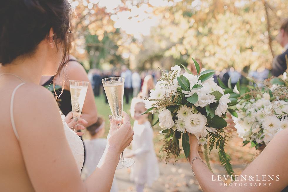 after ceremony - St Margarets Cafe - Karaka {Auckland lifestyle wedding photographer}