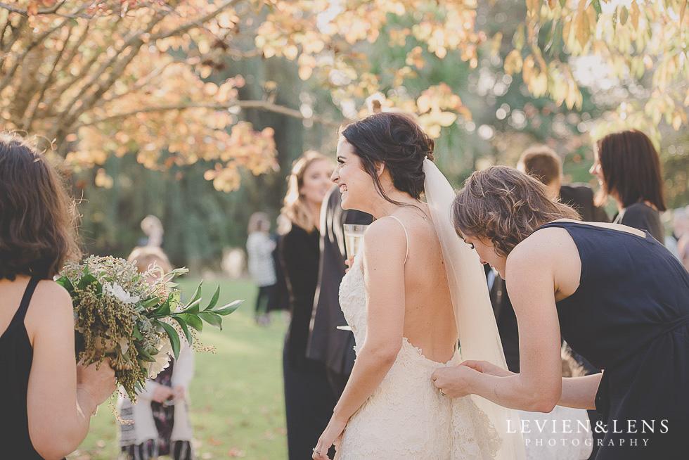 after ceremony St Margarets Cafe - Karaka {Auckland lifestyle wedding photographer}