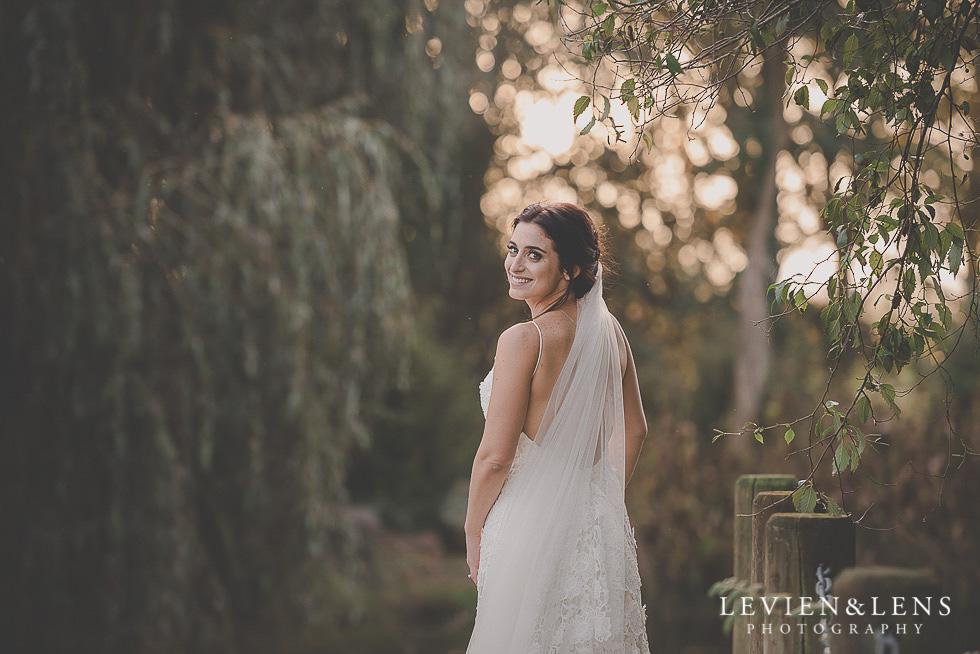 bridal portrait St Margarets Cafe - Karaka {Auckland lifestyle wedding photographer}