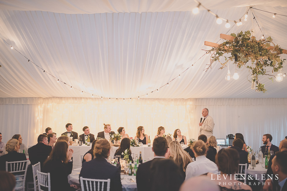 reception speeches St Margarets Cafe - Karaka {Auckland lifestyle wedding photographer}